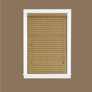 "🆕 Achim Madera Faux Wood Blinds 36"" x 64"""